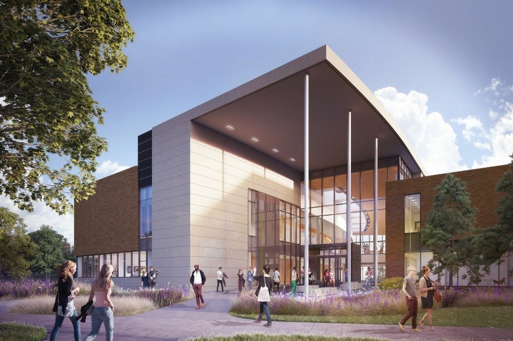 Exterior Rendering - South Entrance