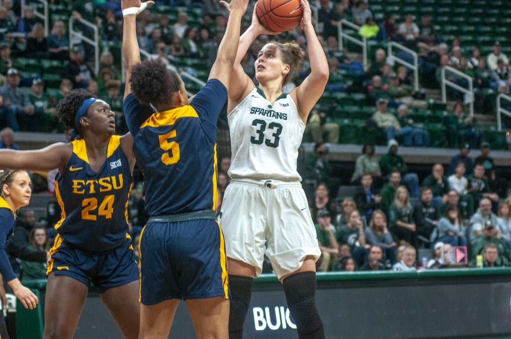 Women's Basketball vs East Tennessee State: 11/11/18