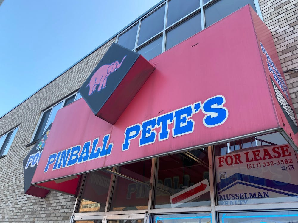 Pinball Pete's East Lansing pictured on Sept. 25, 2020.