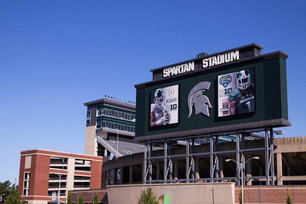 <p>Michigan State University&#x27;s Spartan Stadium photographed on Aug. 23, 2019.</p>