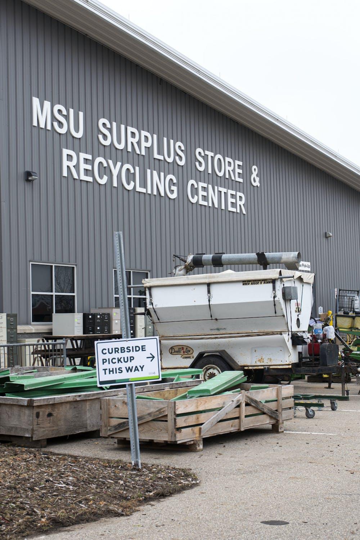 MSU Surplus Store located on Green Way shot on Dec. 9, 2020.