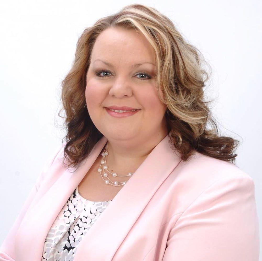 <p>Headshot of MSU alumna Jennifer Shuster, who will begin as the East Lansing City Clerk starting Jan. 17. Marie Wicks, the former city clerk for 12 years, stepped down. Photo courtesy of the City of East Lansing.</p>