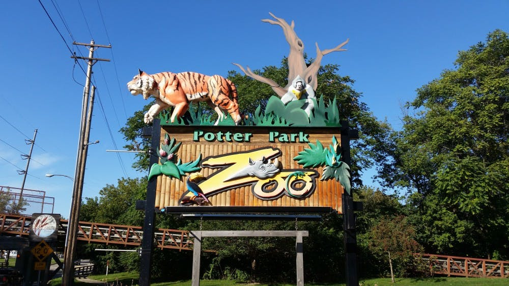 <p>Potter Park Zoo, located at 1301 S. Pennsylvania Ave., Lansing, MI. Photo by: Vikram Mandelia</p>