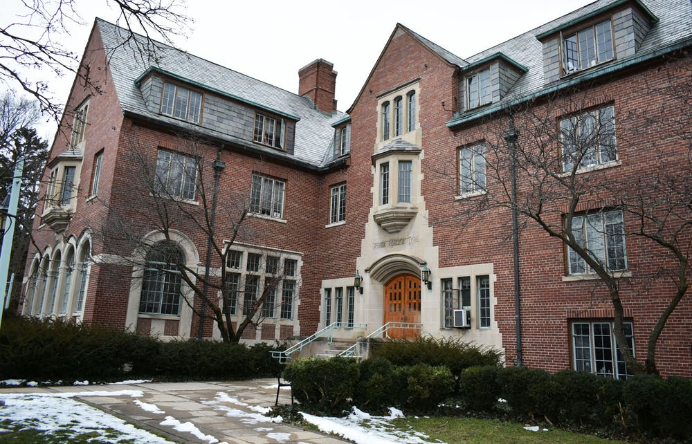 <p>Gilchrist Hall photographed on Jan. 27, 2020. </p>