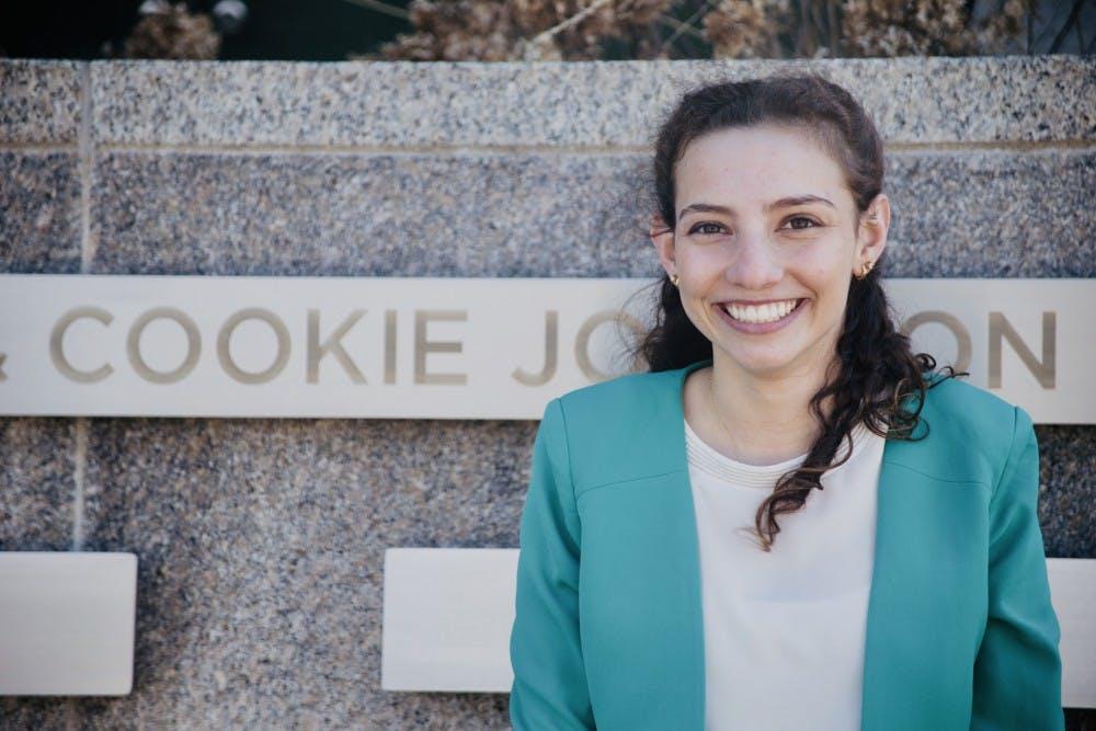 <p>Katherine &quot;Cookie&quot; Rifiotis served as student body president of the 2018-19 session of ASMSU. (Photo courtesy of Rifiotis)</p>