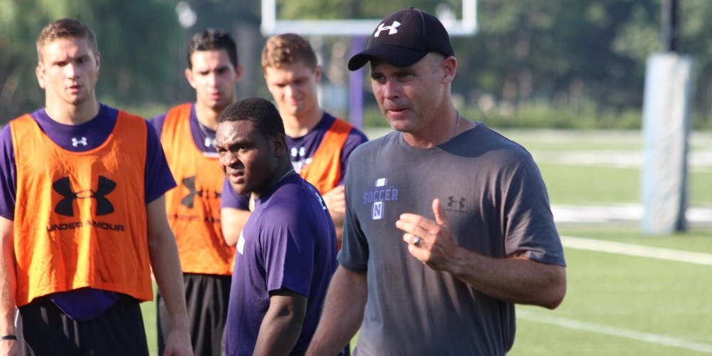 <p>Michigan State men's soccer adds new assistant coach Joe Ahearn to the team after previously coaching at Northwestern University for six seasons. Photo courtesy of MSU Athletics &nbsp;</p>