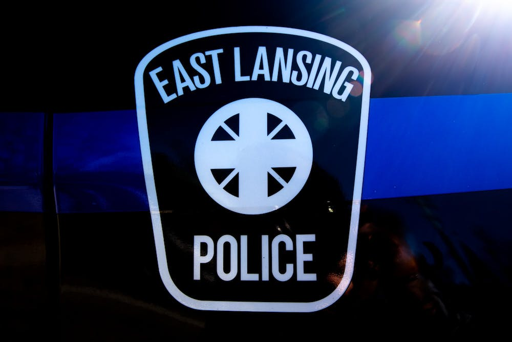 An East Lansing Police car, photographed on March 10, 2020.