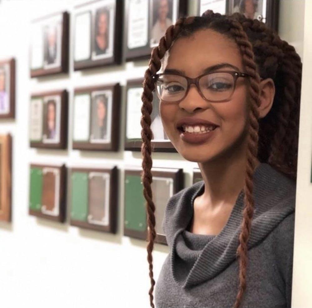 <p>MSU political science senior Jasmine Jordan, who won the Gates Cambridge scholarship.</p>