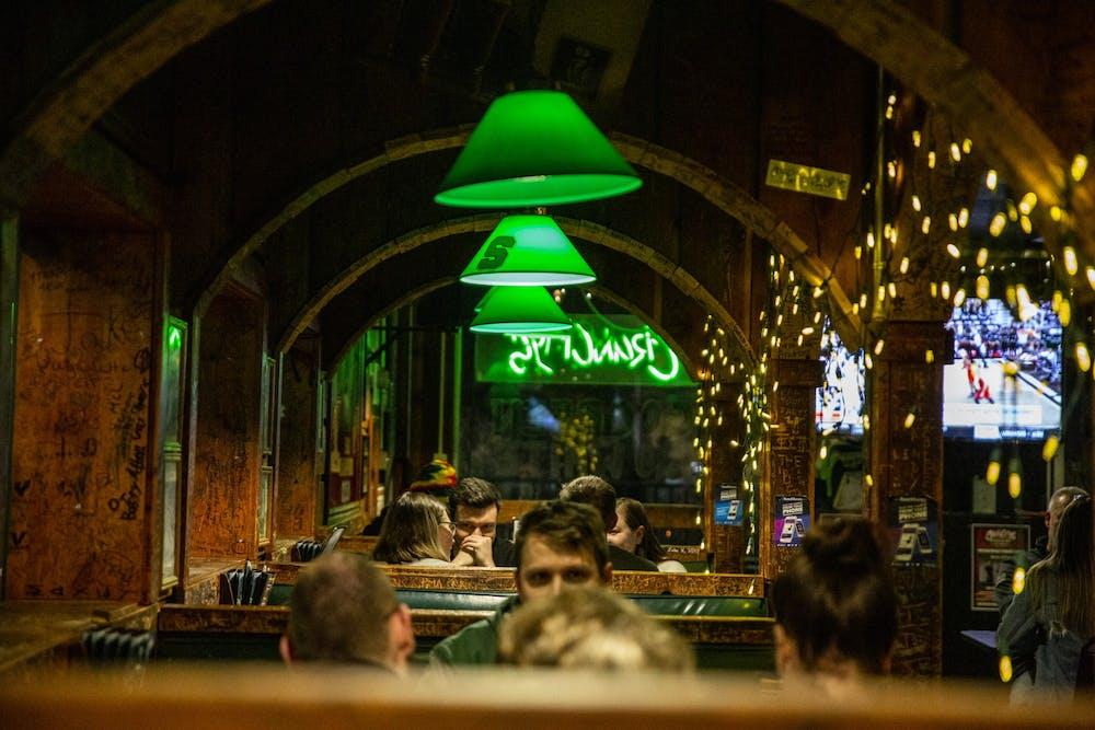 Inside Crunchy's bar on Nov. 19, 2019.