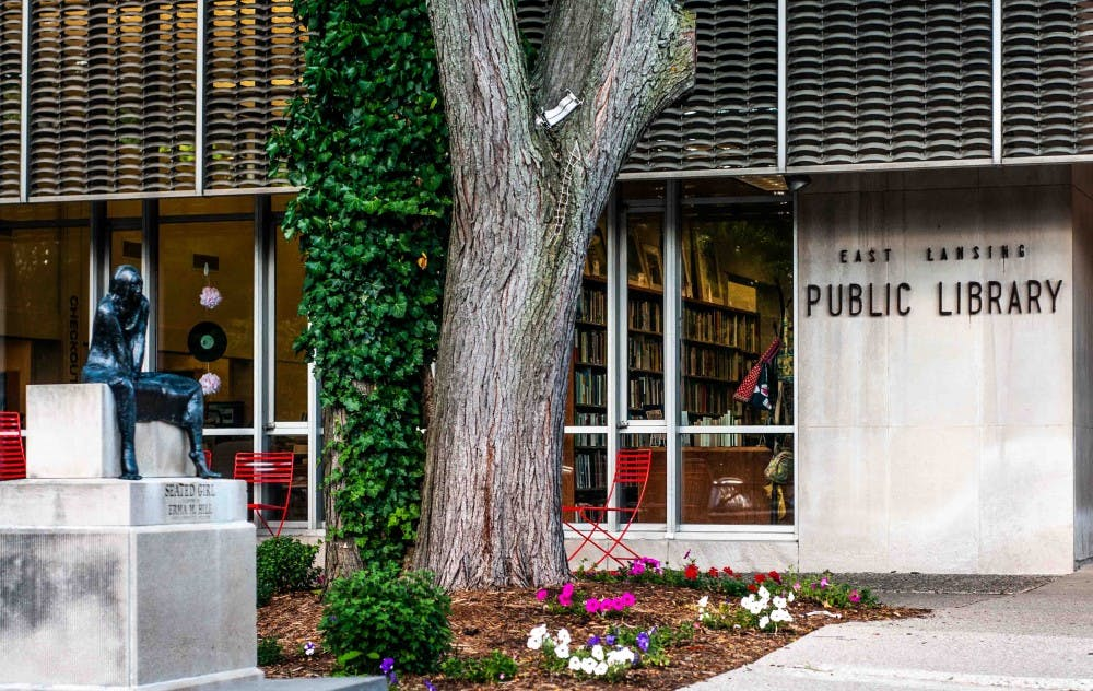 The East Lansing Public Library on July 19, 2018.