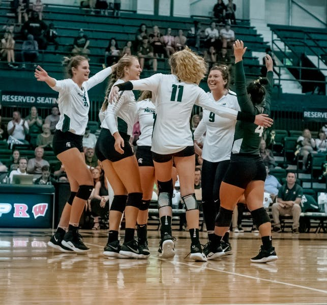 MSU volleyball sweeps Albany to kickoff Spartan ...