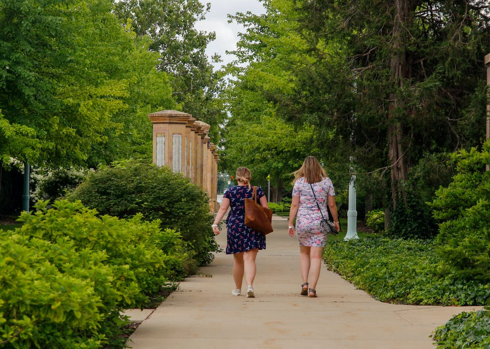 Michigan State students, employees and residents of the Greater Lansing area alike can be seen walking through campus on nice days - not just to commute to class or their offices, but often times to admire campus itself.