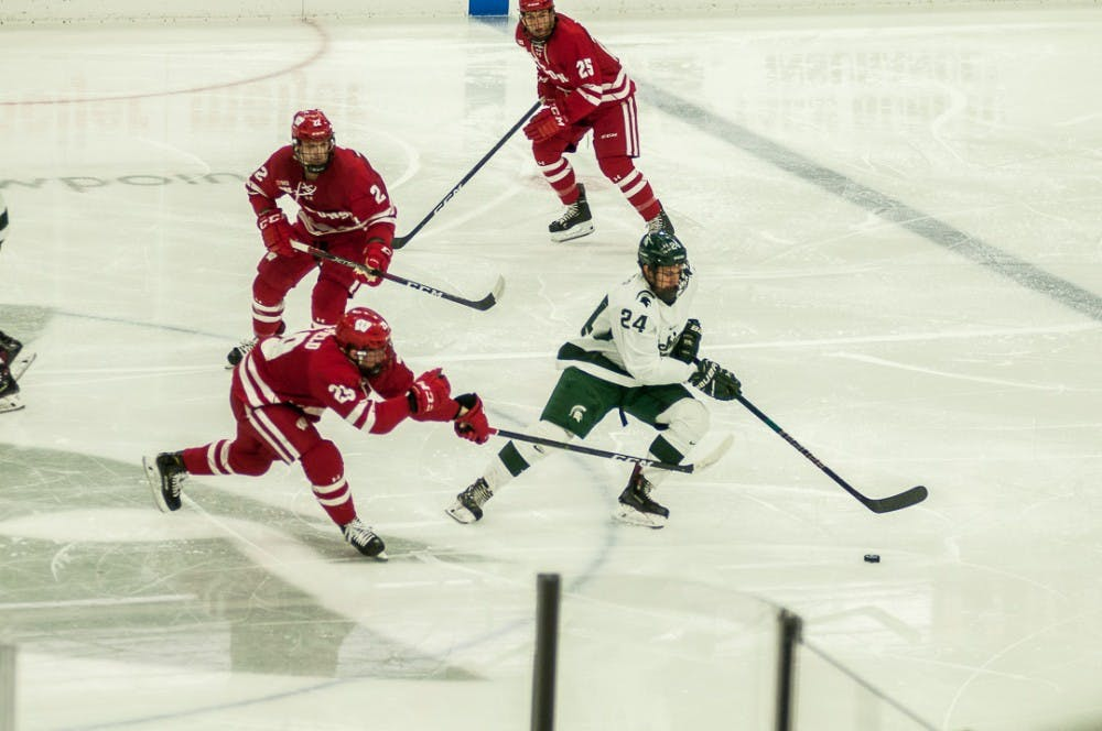 Hockey vs. Wisconsin: Feb. 1, 2018