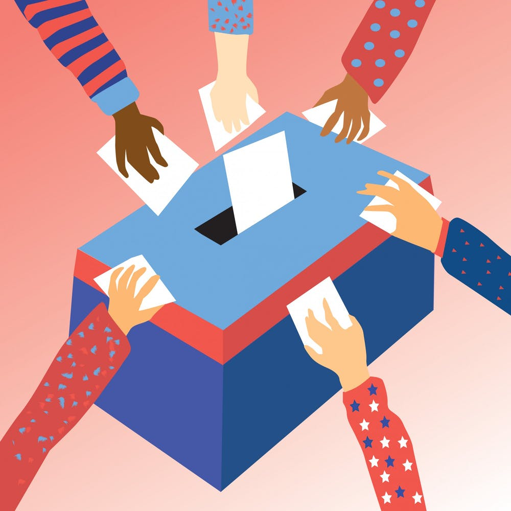 <p>Voting ballot illustration by Hope Ann Flores.</p>