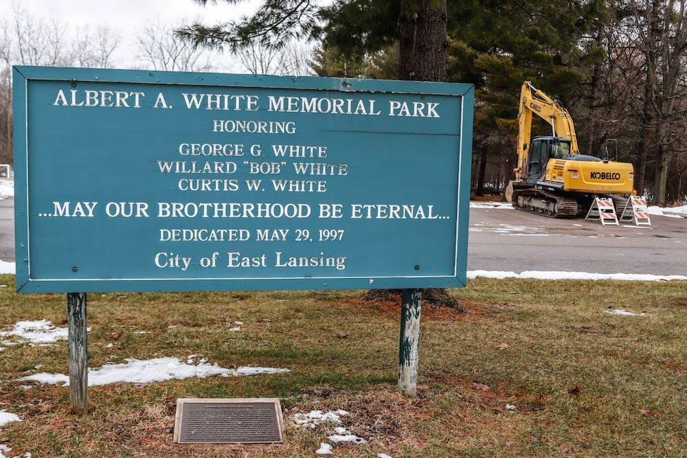 Albert A. White Memorial Park on Jan. 28, 2020.