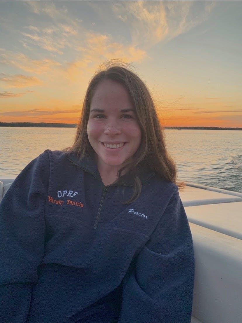 A headshot of Emma Proctor