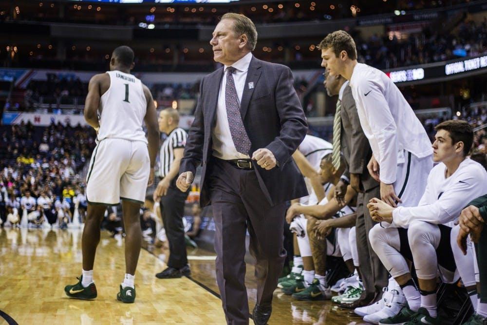 MSU men's basketball vs Penn State