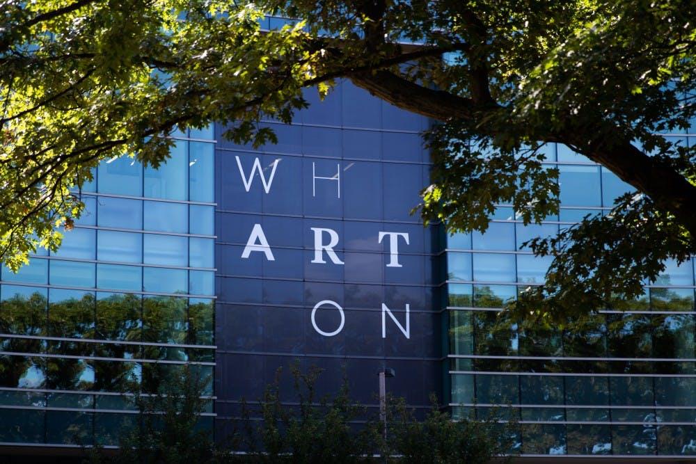 <p>The Wharton Center photographed on Aug. 23, 2019.</p>