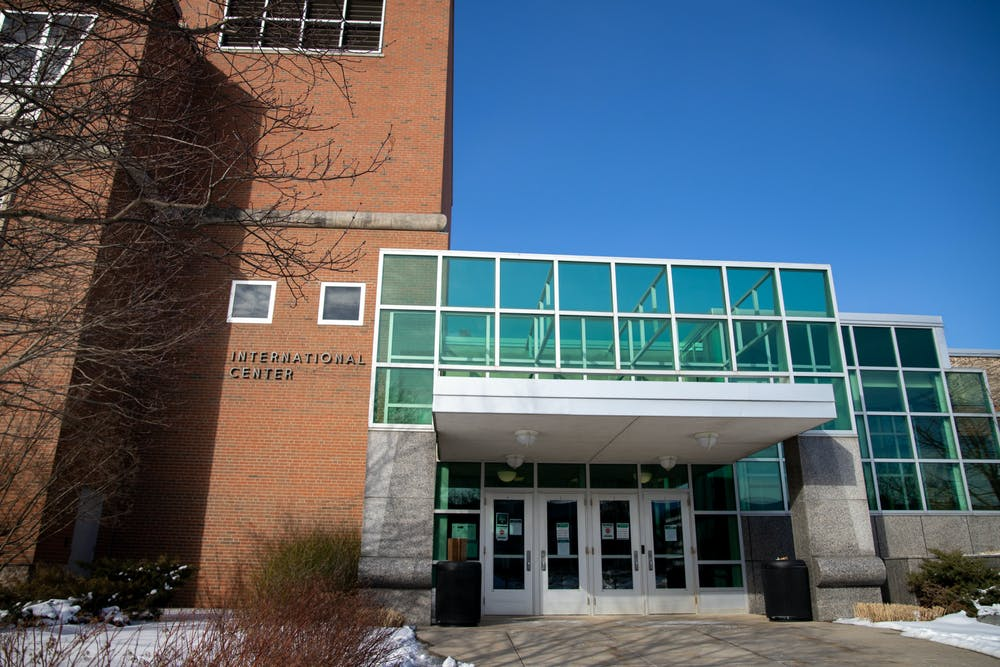 <p>11 Feb.- East Lansing- The current International Center on Michigan State University&#x27;s campus.</p>