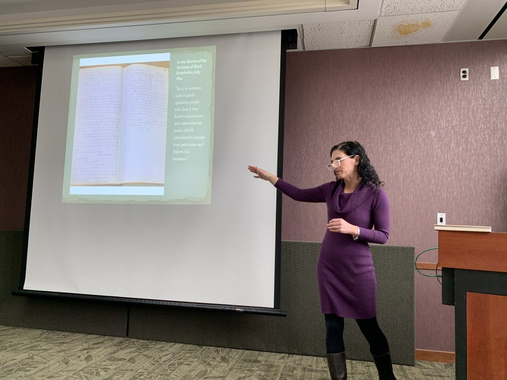 Seminar On The 'History Of Name Changing' Kicks Off 2019 Colloquia Series