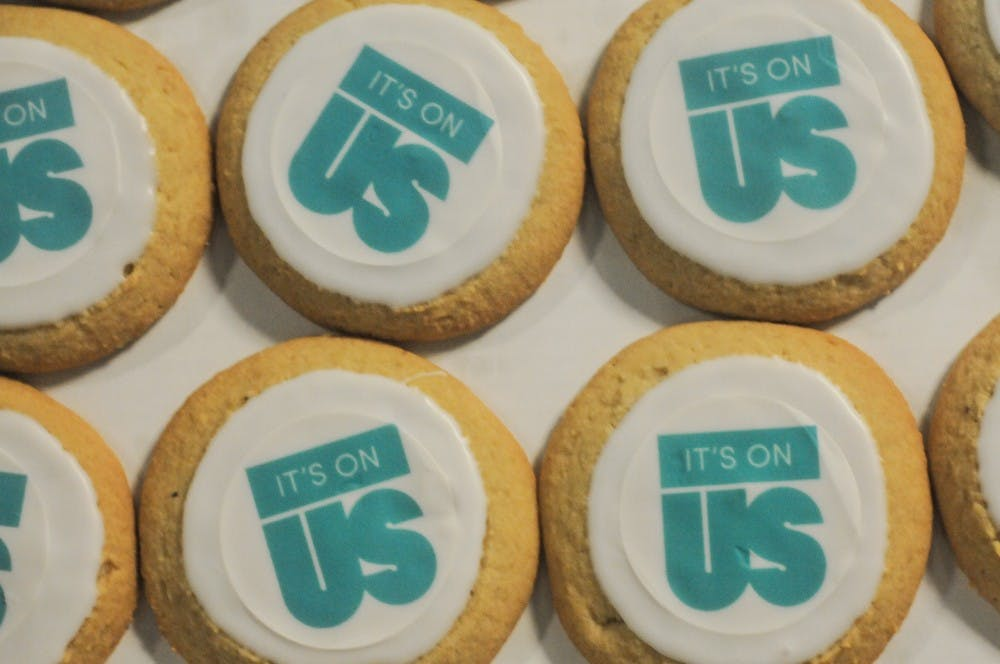 <p>It&#x27;s On Us cookies at the MSU Union on April 2, 2019.</p>