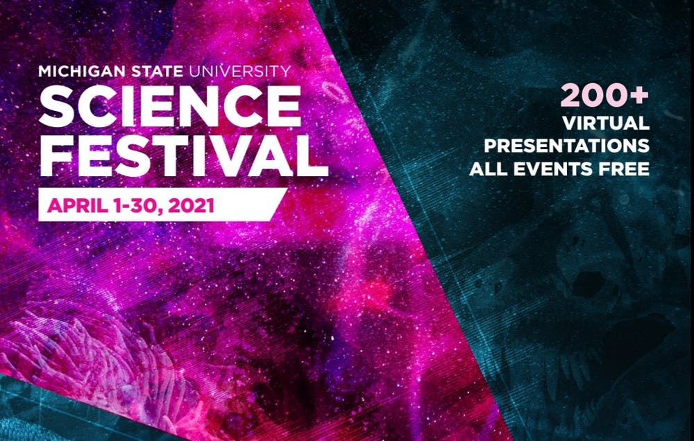 <p>Poster of MSU Science Festival 2021. Photo courtesy of Science Festival Coordinator Roxanne Truhn.</p>