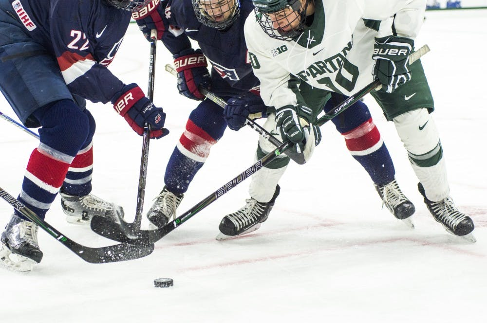 Hockey vs U.S. National Team Development Program U-18 12/4/16