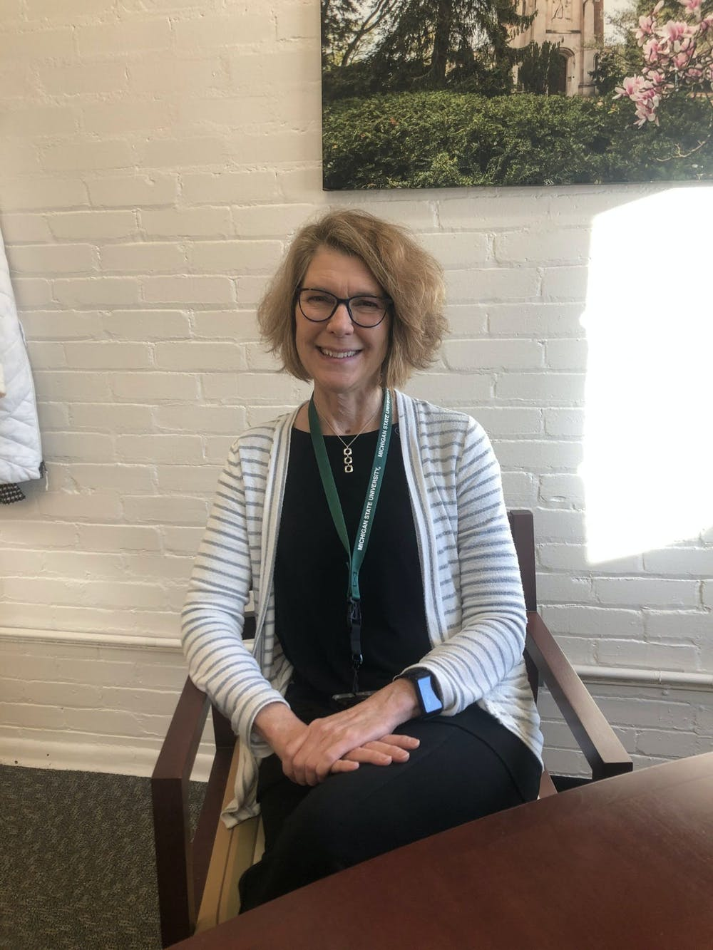 <p>Former Office of Institutional Equity Director Melody Werner poses for a photo in January 2020.</p>