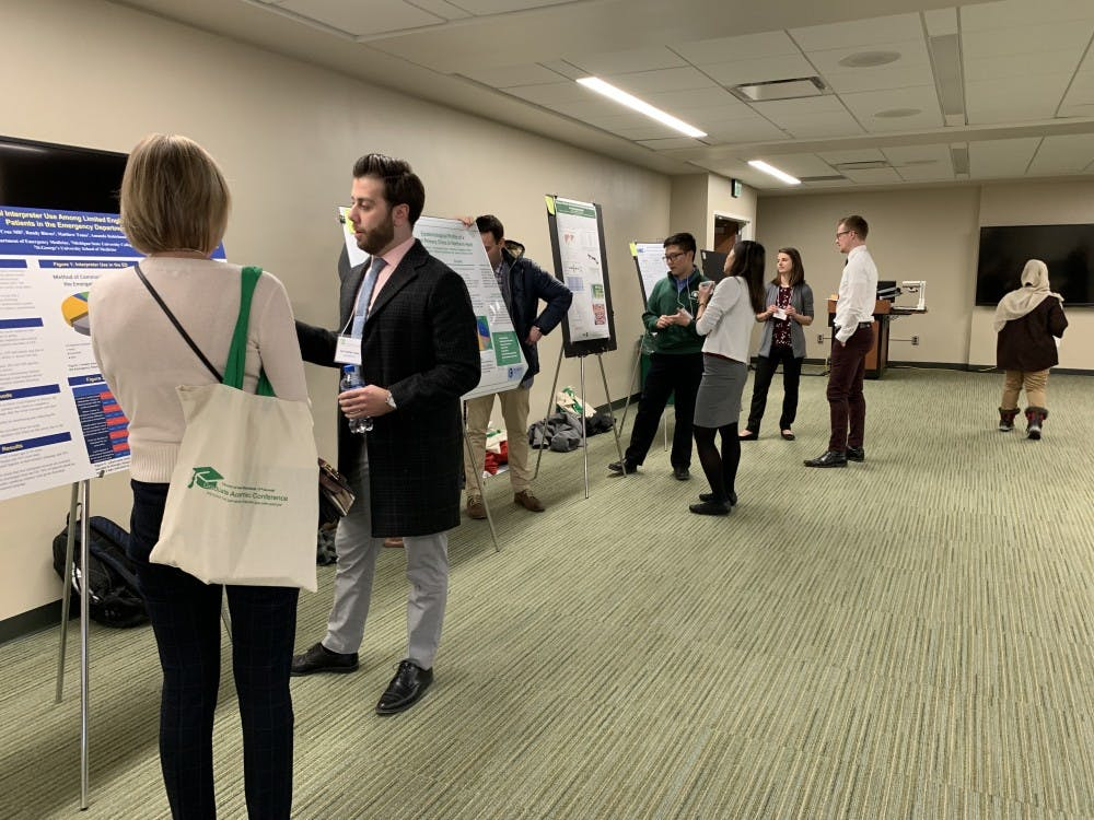 Graduate students present research, more at all-day conference