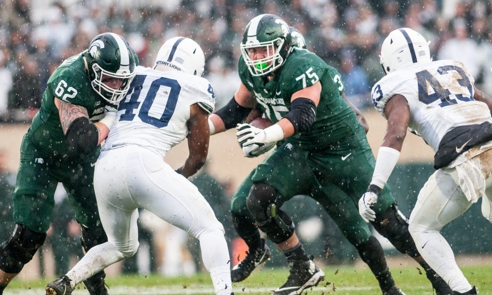 Kevin Jarvis out for MSU against Northwestern - The State News