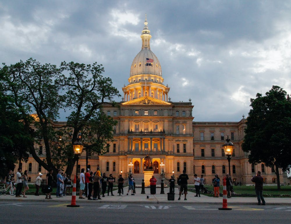<p>Lansing&#x27;s Black Lives Matter chapter gathered at the Michigan capitol in memory of George Floyd on the anniversary of his death. They acknowledged the progress that has been made, but emphasized the need for more. &quot;We&#x27;ve got to organize, we&#x27;ve got to be united,&quot; said Michael Lynn Jr., Lansing activist and former first responder. </p>