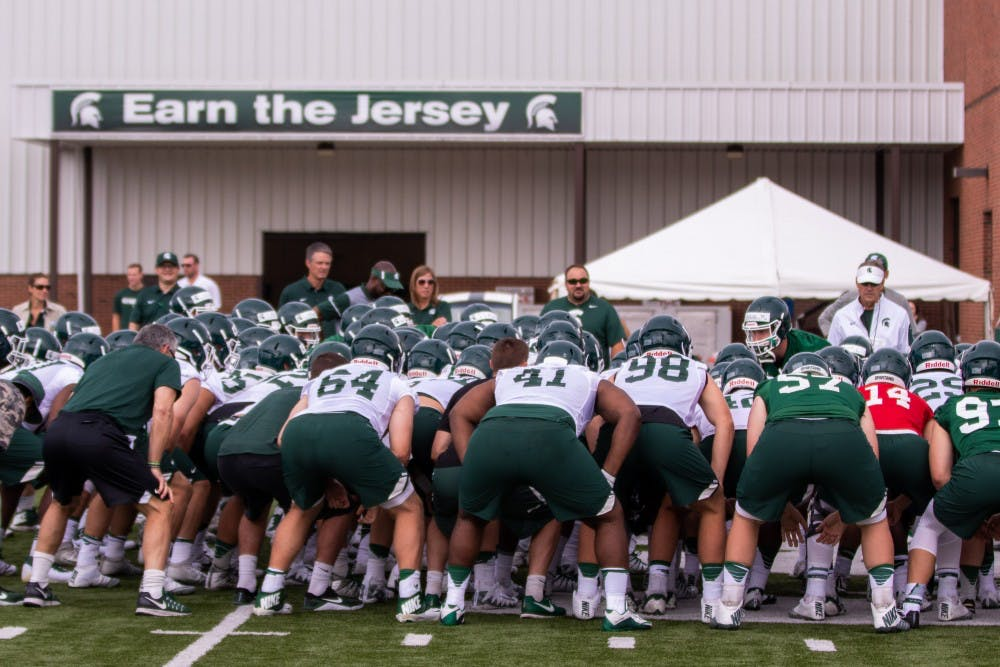 Michigan State Football Big Ten Schedules Set From 2022 25
