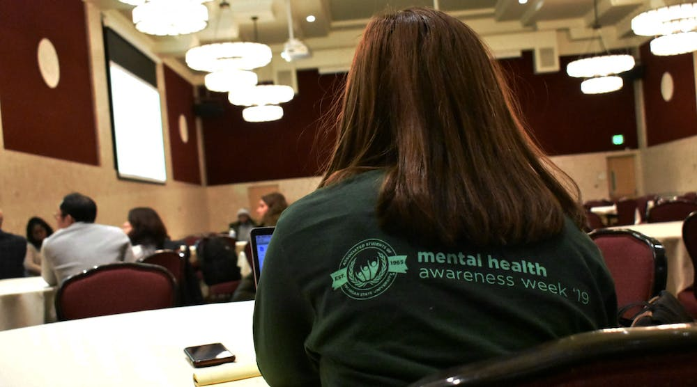 Michigan State is honoring mental health victims by holding a Mental Health Awareness Week, full of activities and seminars to bring awareness and information to students seeking mental help.