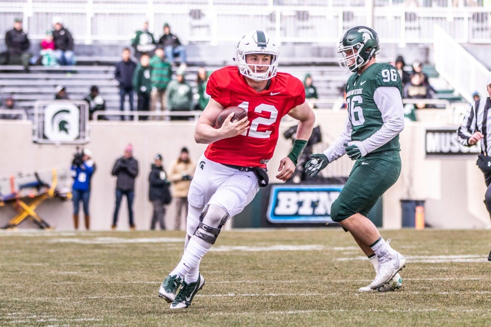 Rocky Lombardi's journey to becoming MSU's starting punter ...