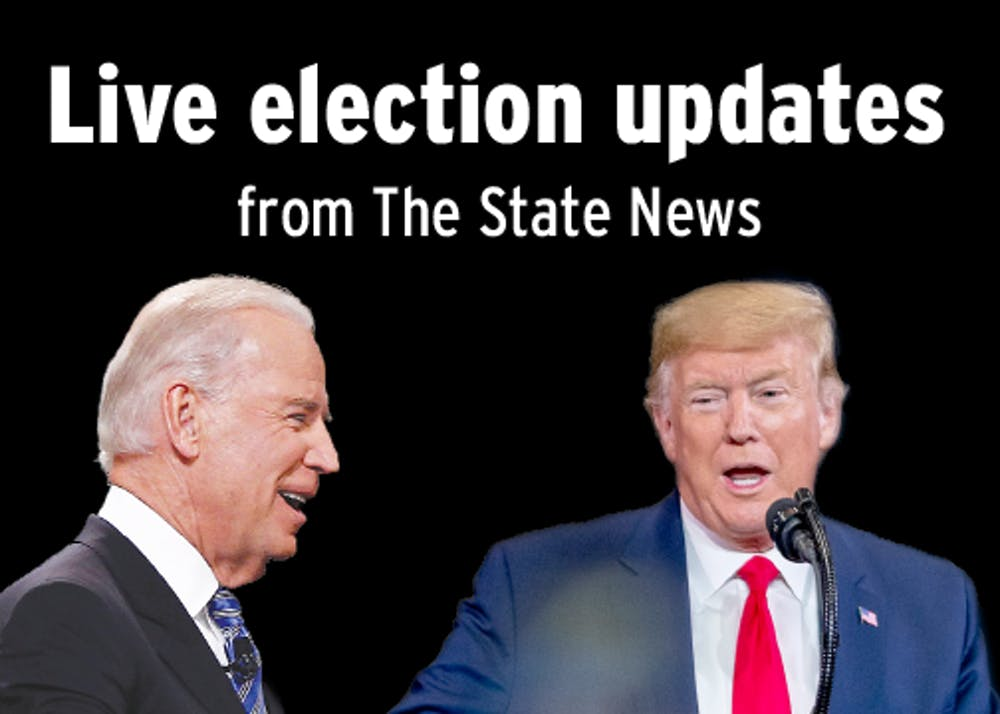 <p>Follow along with the State News for live updates during the 2020 election.</p>