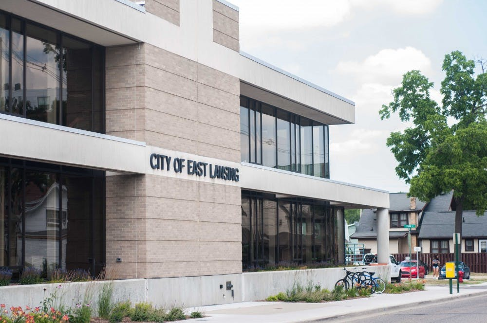 The East Lansing City Hall on July 3, 2018.