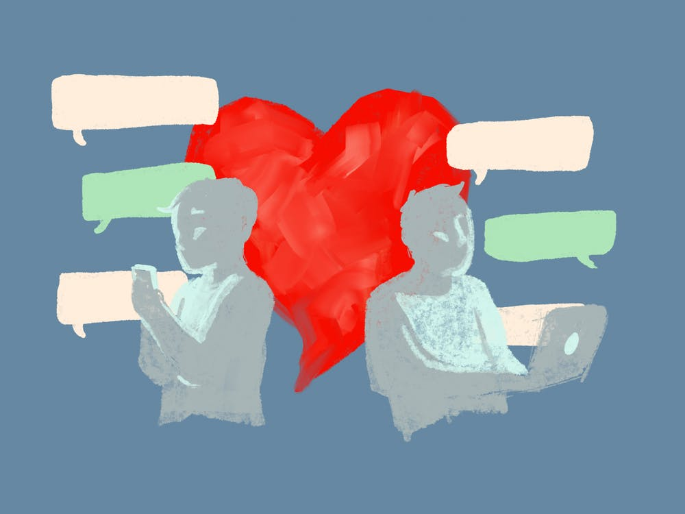 Love Lockdown: Dating during a pandemic (Illustration by Daena Faustino).