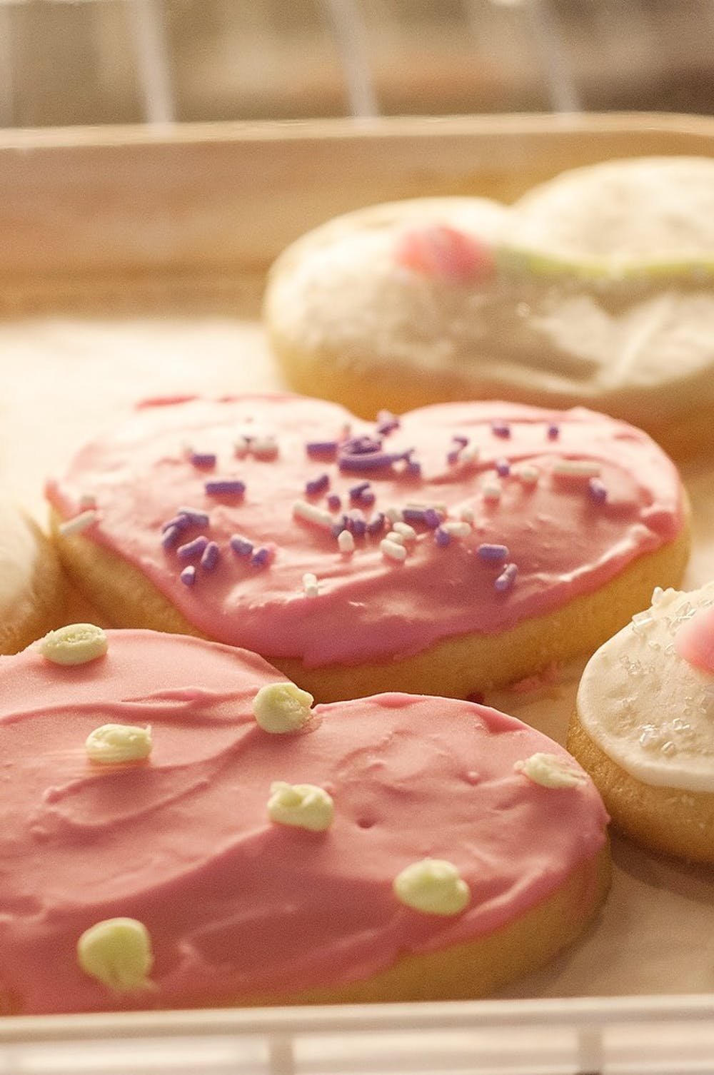 <p>Grand River Coffee Cafe presents special Valentines Day themed treats Feb 10, 2015 at 515 West Grand River Ave, East Lansing.</p>
