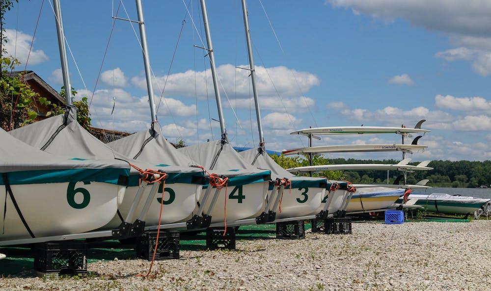 MSU Sailing Center July 21, 2021