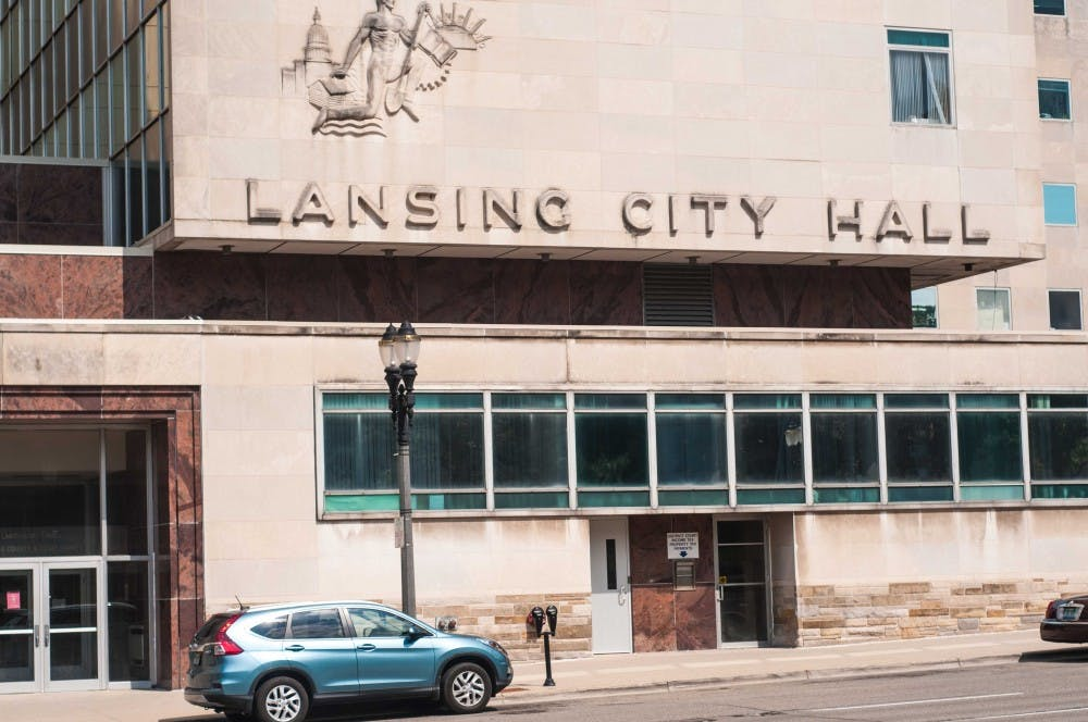 The Lansing City Hall on July 3, 2018.