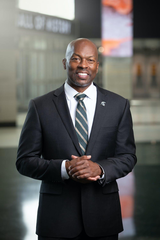 <p>Michigan State University Athletic Director Allan Haller, courtesy photo from MSU Athletics.</p>