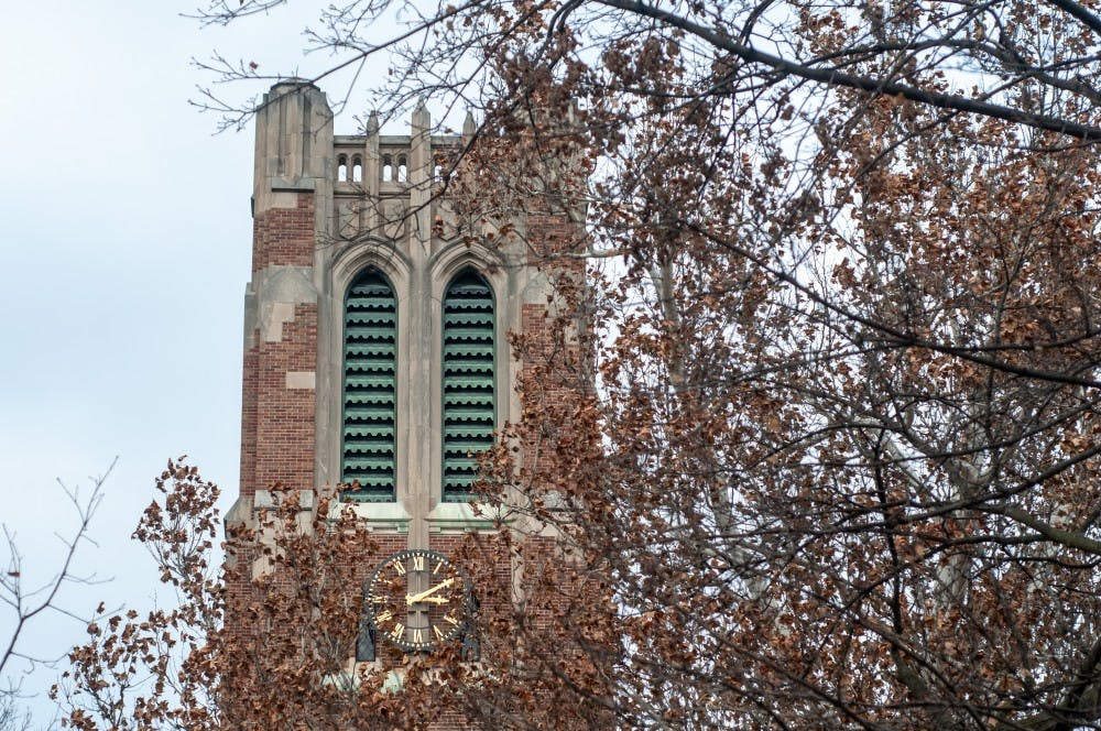 <p>Beaumont Tower on Jan. 10, 2019.</p>