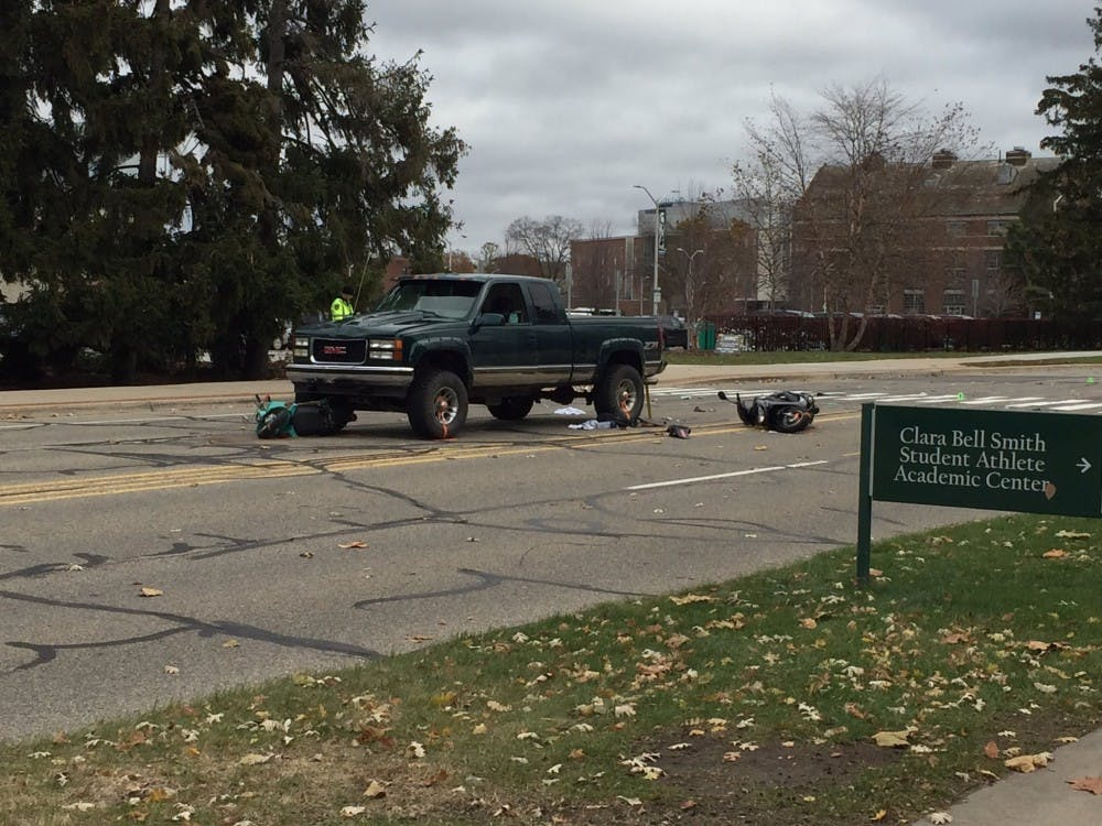 Two MSU students injured in car crash, one in 'serious condition