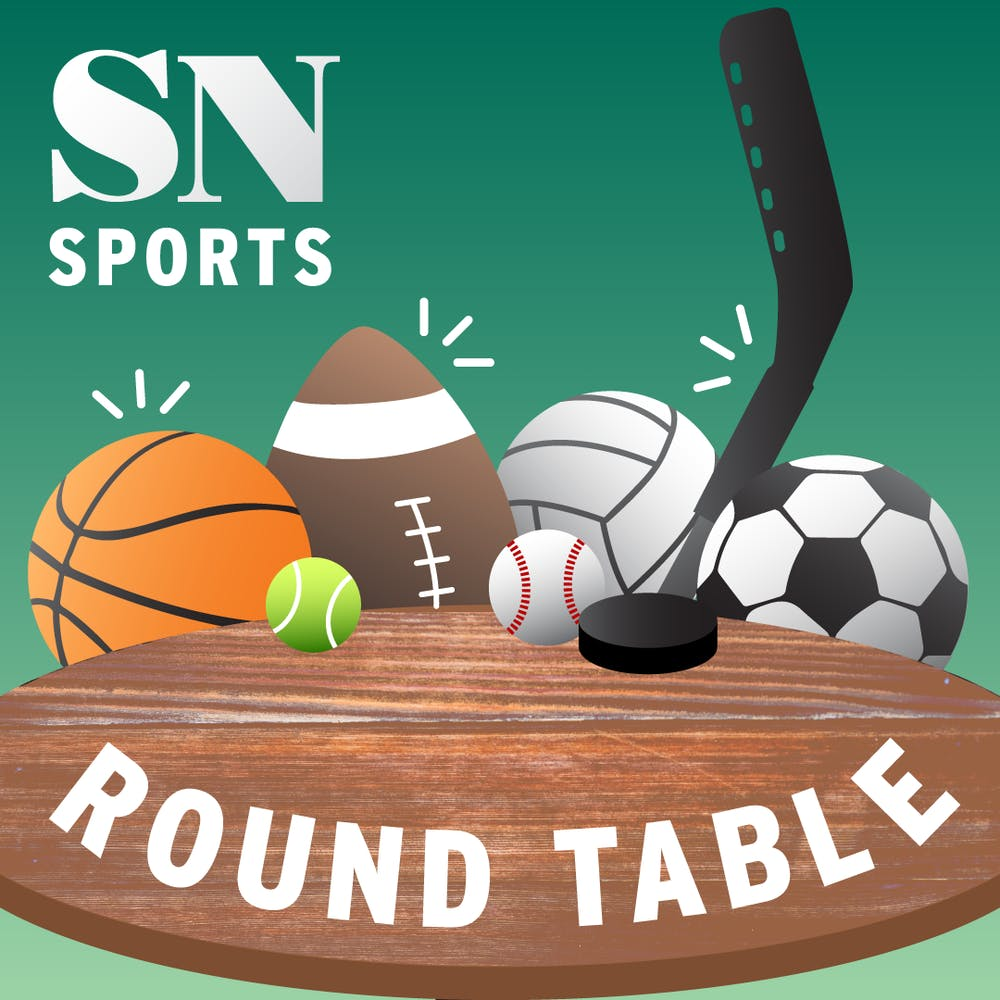 <p>The official logo of the State News Sports Roundtable</p>