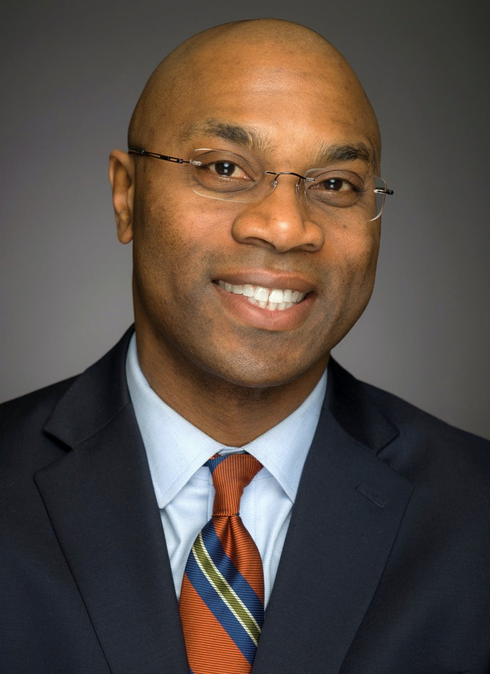 <p>Photo of Jabbar R. Bennett, courtesy of MSU communications. Bennett was announced as the vice president and chief diversity officer Oct. 6, 2020. </p>