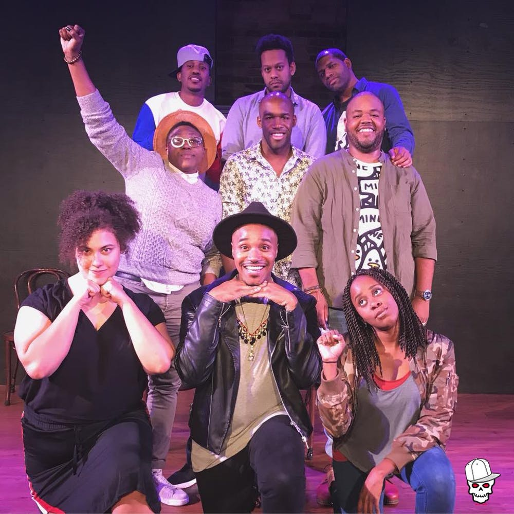 The cast of 3PEAT, an improv comedy show coming to campus. Photo courtesy of 3PEAT.