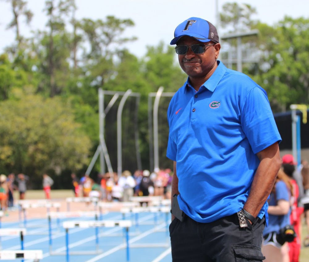 <p>Florida head coach Mike Holloway. The Gators men&#x27;s and women&#x27;s track and field teams competed in both Jacksonville and Baton Rouge this week but only had one athlete win an event.</p>