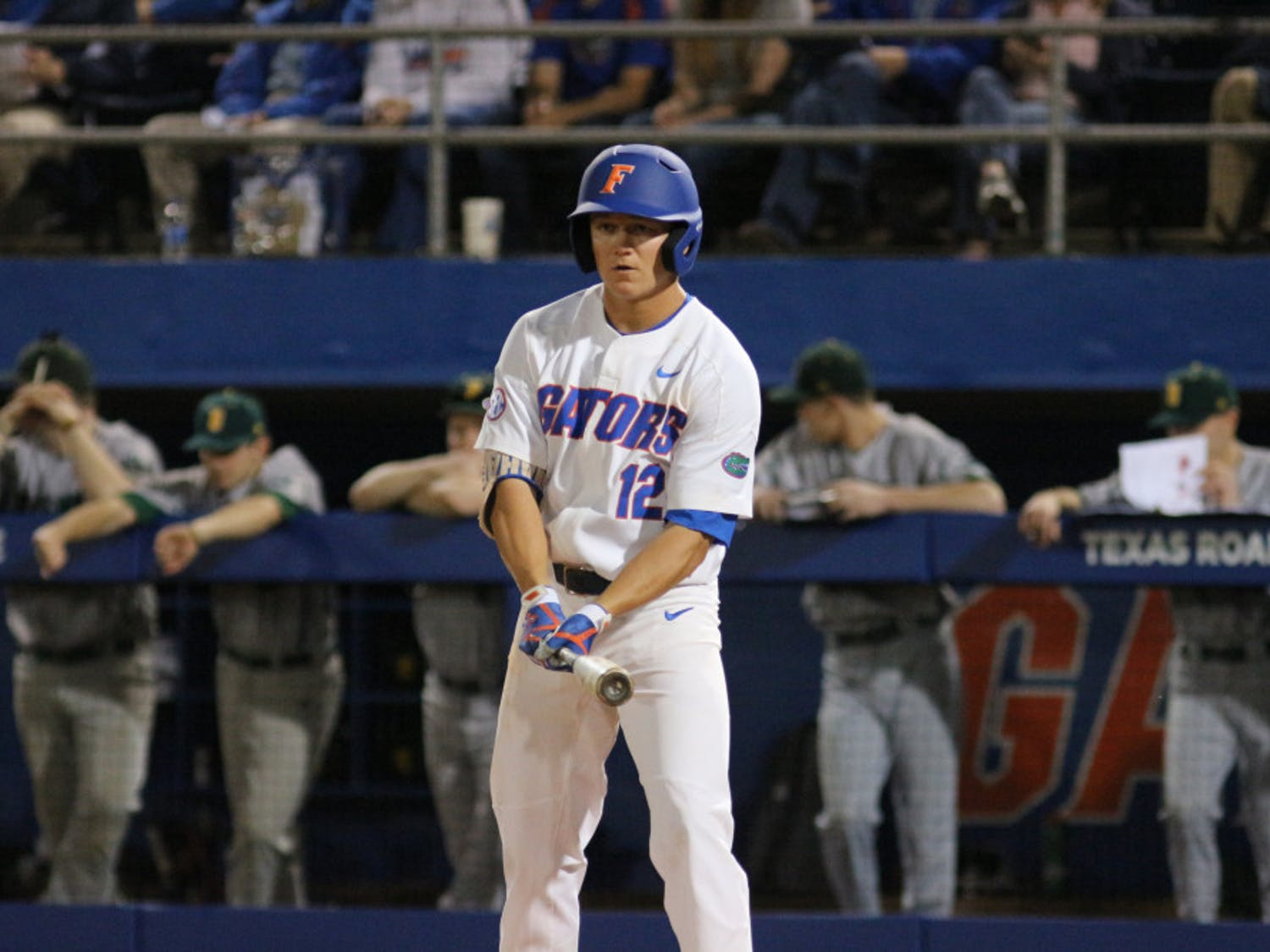 Second baseman Blake Reese powered a grand slam to right field in UF's 9-3 home win over the Georgia Bulldogs on Saturday.