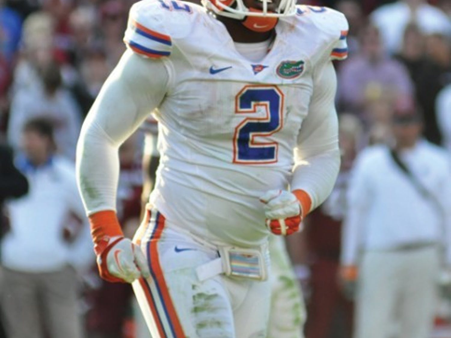Defensive end Dominique Easley takes on Tyler Bray and the Tennessee offense on Saturday at Neyland Stadium in Knoxville, Tenn. Florida has generated four sacks this season while the Volunteers have allowed just one.