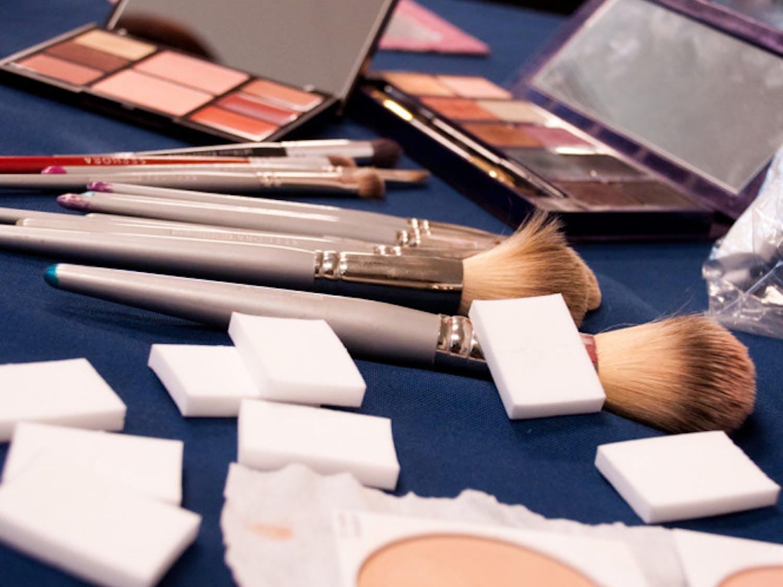 Make-up services provided by Sephora. (Andrew Avila, Alligator)